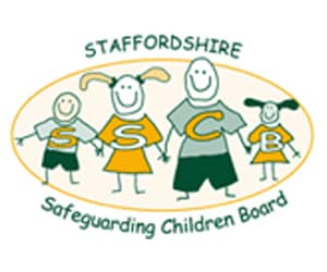 STAFFORDSHIRE SAFEGUARDING CHILDREN BOARD logo
